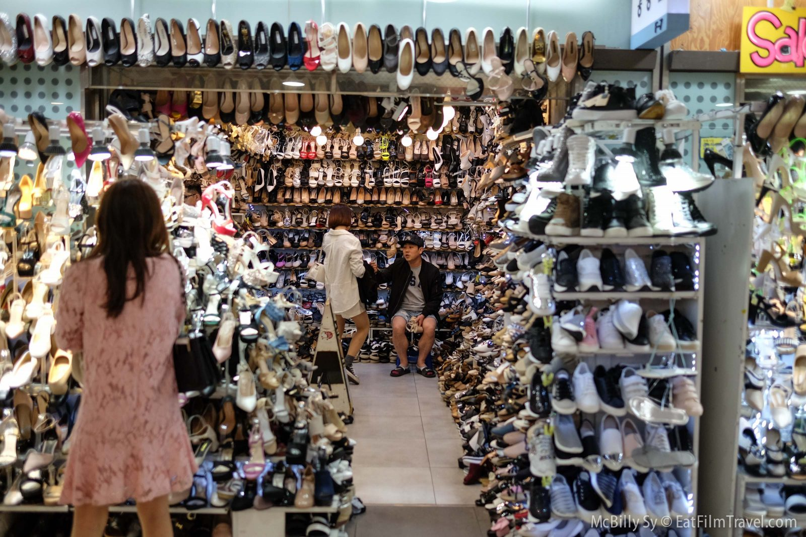 Seoul korea shopping
