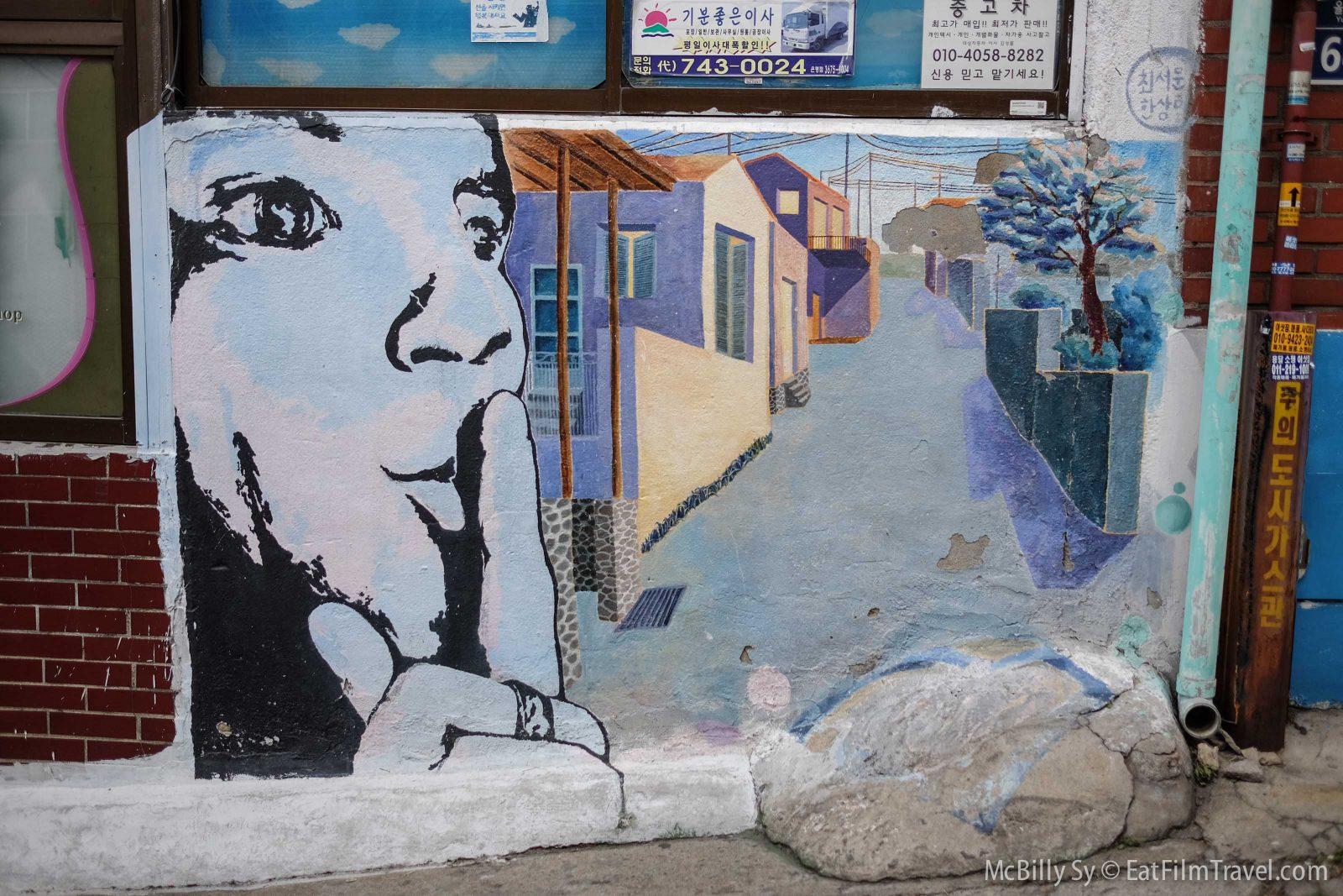 Cool art in Ihwa Mural Village