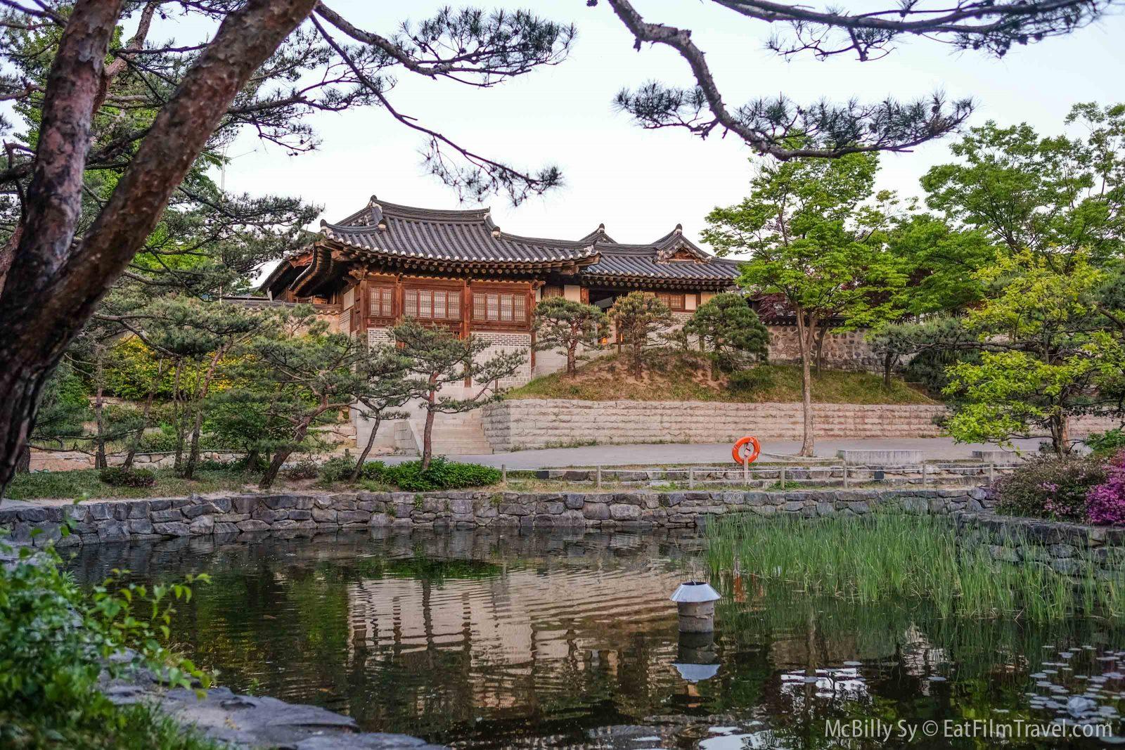 Namsangol Hanok Village in Seoul Korea