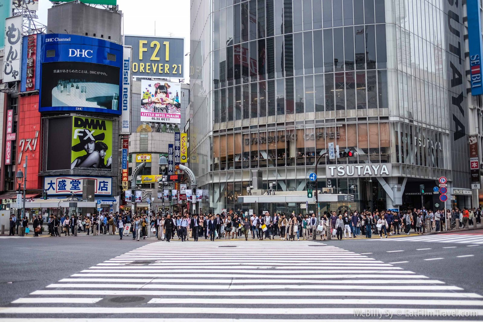 Shibuya Crossing Before