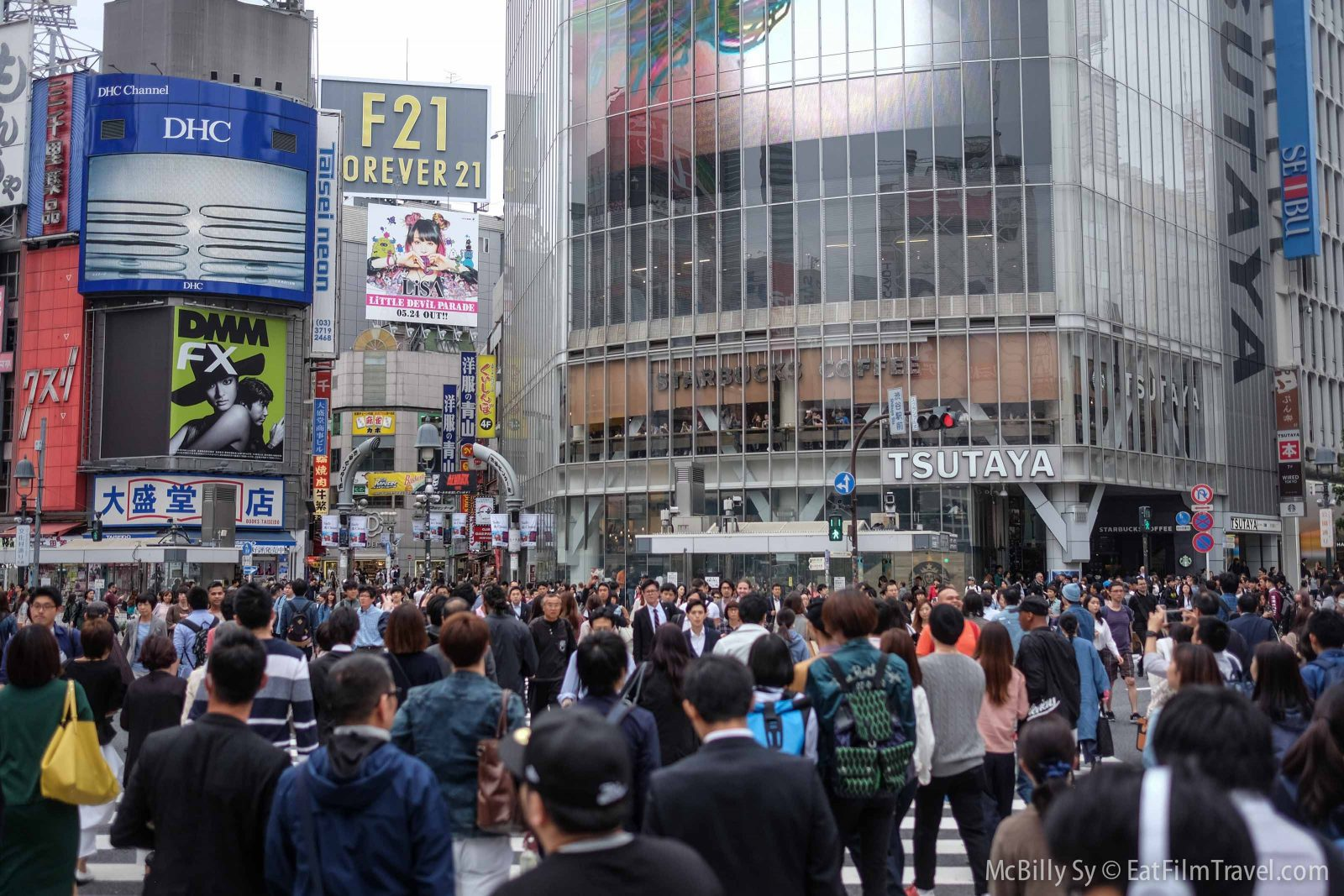 Shibuya Crossing After