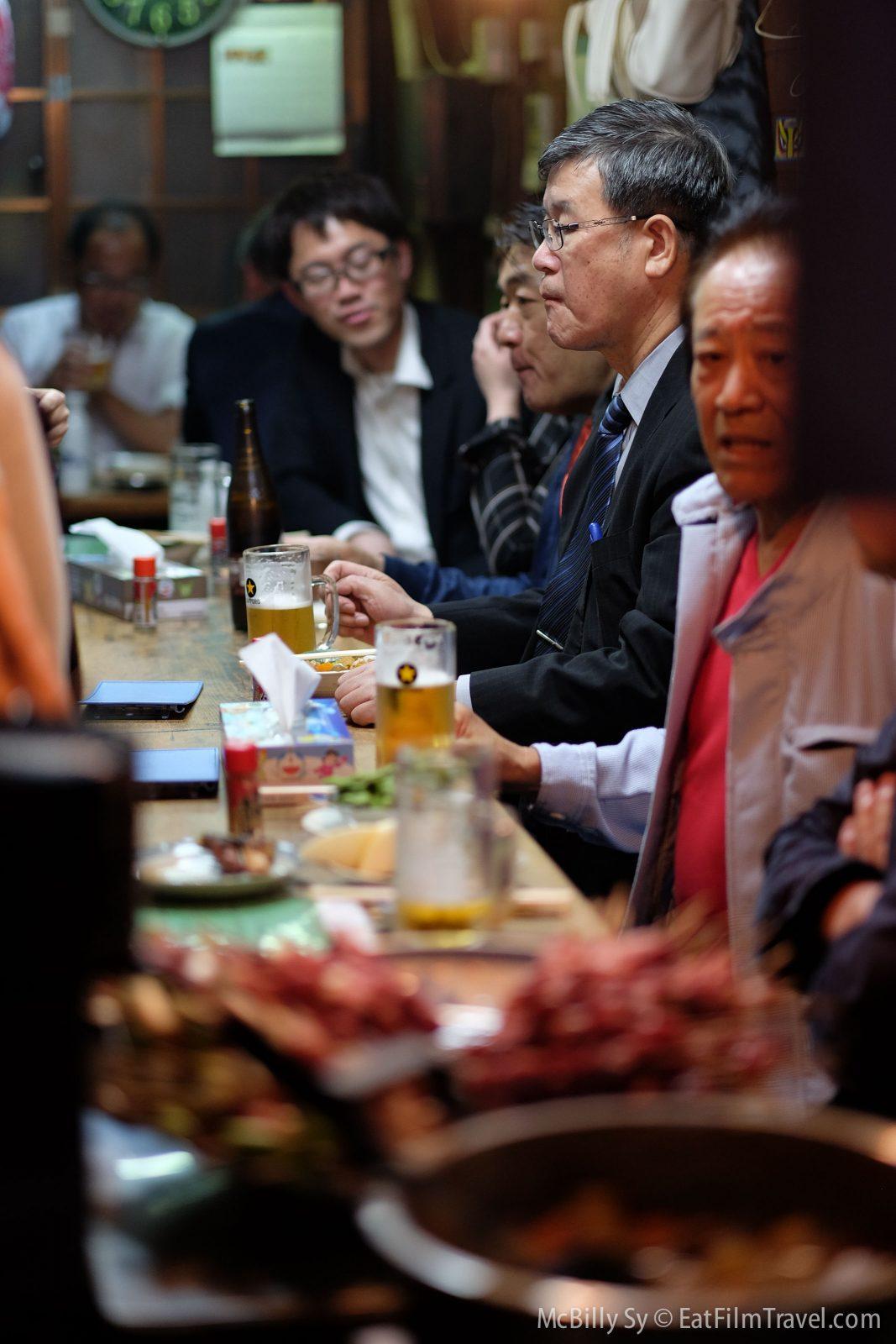 Restaurant in yakitori alley