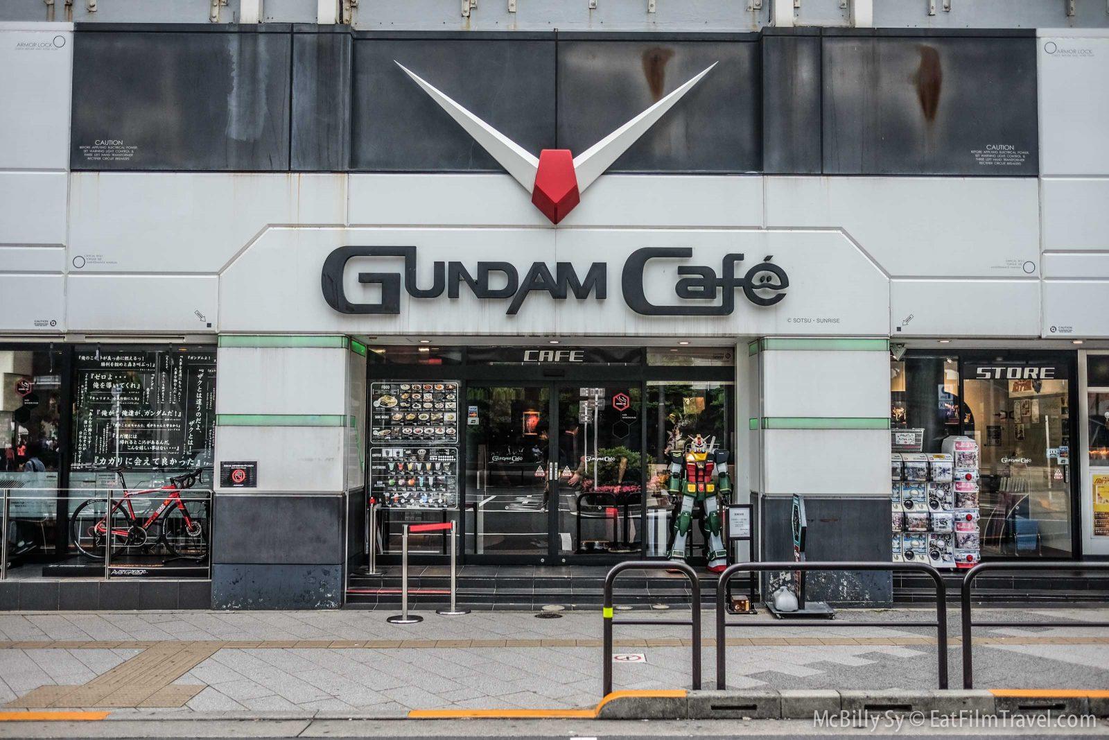 Gundam Cafe in Akihabara Tokyo