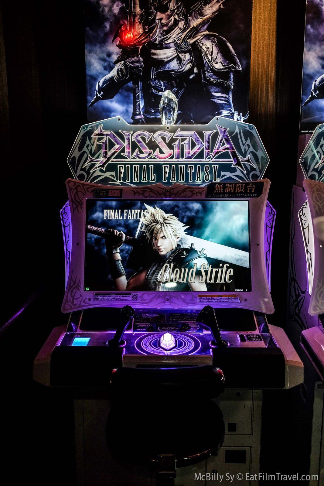 Final Fantasy arcade games