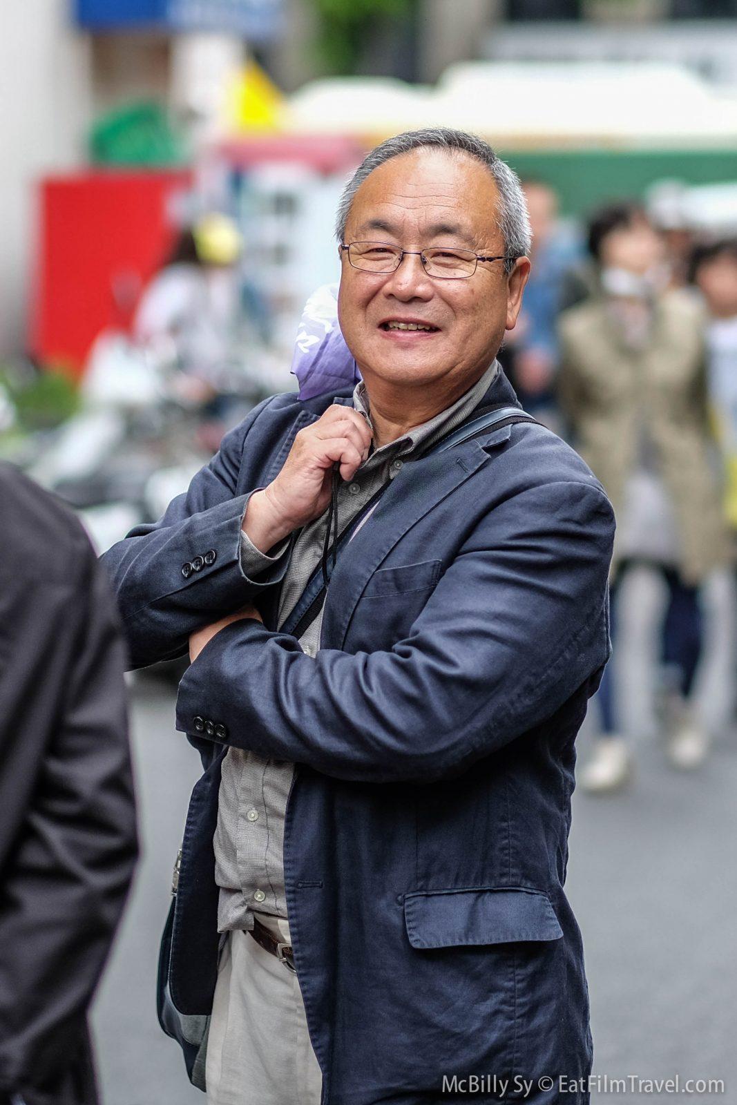 People of Tokyo in Tsukiji market