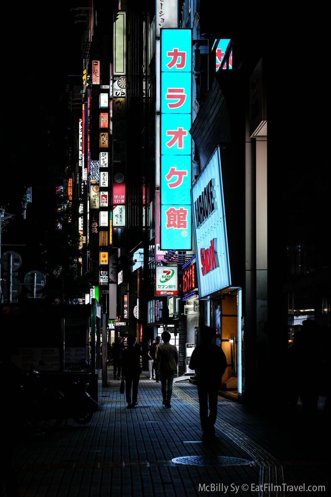 Perfect to walk around the Shinjuku area for some night photography
